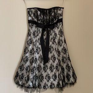 Jessica McClintock Strapless Short Dress